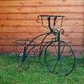 Велосипед подставка для цветов