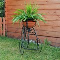Подставка садовая велосипед - фото 15651