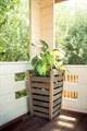 Деревянная кадка для растений