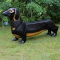 Лавка для дачи собака