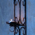 Подсвечник настенный кованый - фото 18285