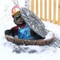 Зимнее укрытие для люка