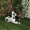 Собака дог садовая фигура