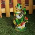 Лягушка фигурка для сада