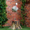 Скульптура садовая Аист