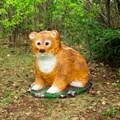 Декоративная фигура медвежонок