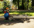 Садовая скамейка крот