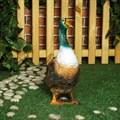 Фигура для сада гусак большой