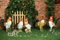 Петухи для сада