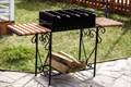 Мангал с подставками для блюда - фото 21127