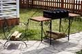 Мангал с подставками для блюда - фото 21128