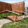 Декоративный мост садовый центр