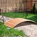Мостик декоративный для дачи и загородного дома