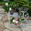 Подставка садовая из металла - фото 21967