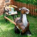 Фигура лошадь с тележкой
