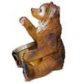 Садовая фигура Медведь с медом