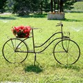 Подставка под цветы велосипед
