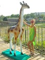 Фигура для сада Жираф большой - фото 23483