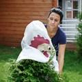 Укрывной материал для растений в саду