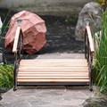 Декоративный мостик для сада