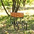 Декоративная садовая тележка