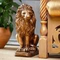 Фигура из полистоуна Лев