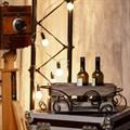 Подставка  под вино из металла