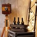Деревянный ящик для бутылок фото