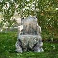 Кресло корень для сада