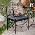 Кованное кресло для сада