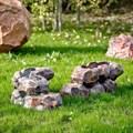 Кашпо для цветов камень