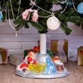 Подставка под елку дед мороз
