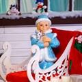Фигура Снегурочка из стеклопластика