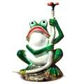 Фигура для сада лягушка