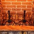 Металлические держатели для дров