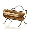 Кованая дровница для дома
