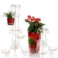 Кованая стойка для цветов