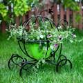Садовая подставка карета