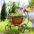 Подставка для цветов карета - фото 34507