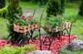 Подставки для цветов для сада