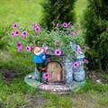 """Кашпо садовое """"Гном на башне"""" - фото 34878"""