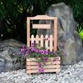 Цветочница из дерева