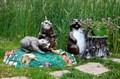 Декоративные фигуры для сада