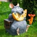 Фигура для сада мышонок
