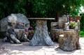 Кресло Пень для дачи и сада