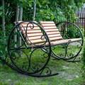 Кресло качалка для дачи