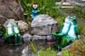 Садовая фигура Две лягушки F01166 - фото 36079
