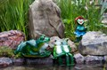 Садовая фигура Две лягушки F01166 - фото 36080