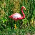 Фигурка для сада фламинго