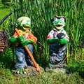 Фигуры для сада Лягушки